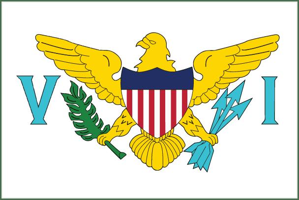 Image result for us virgin islands flag