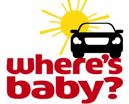 Where's Baby? Look before you lock logo