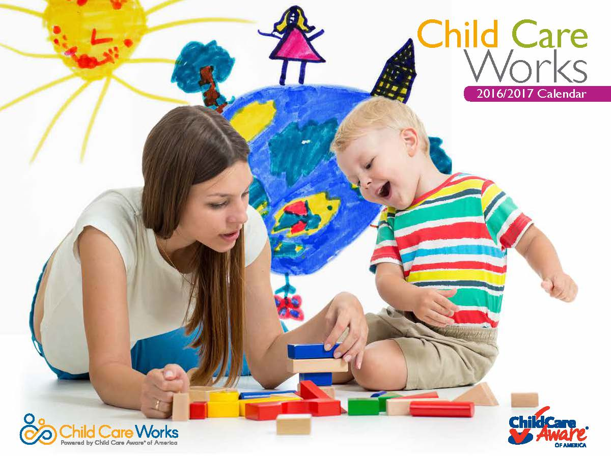 Child Care Works 2017- 2017 calendar