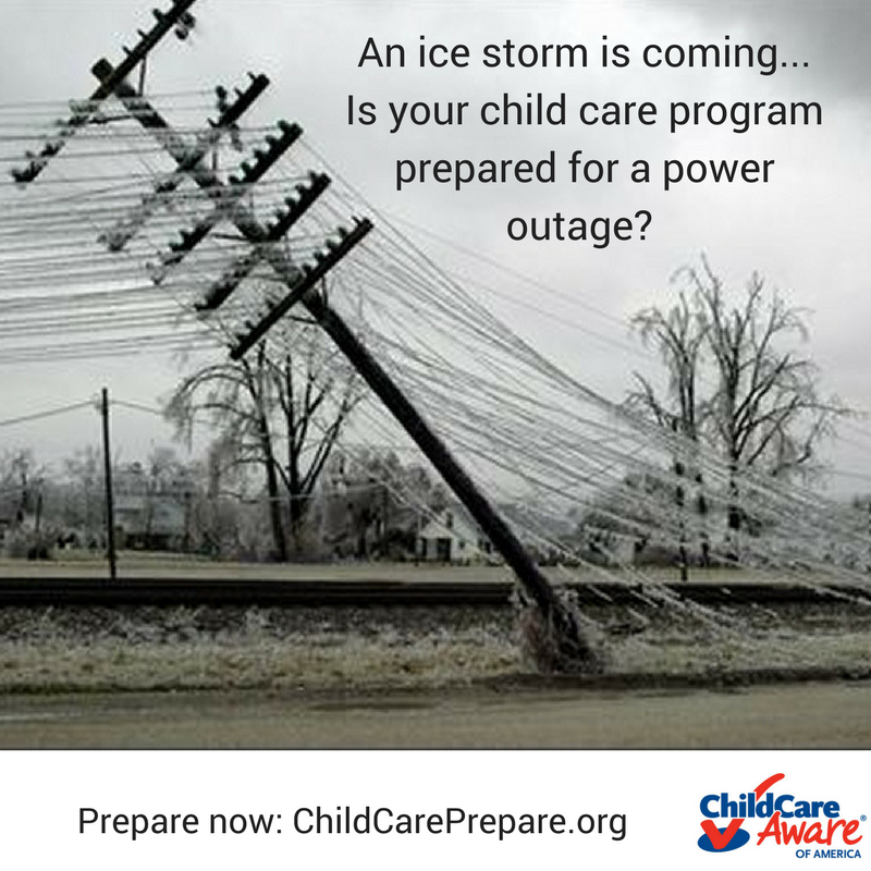 Prepare now- ChildCarePrepare.org