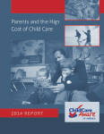 Parents and the High Cost of Child Care - 2014