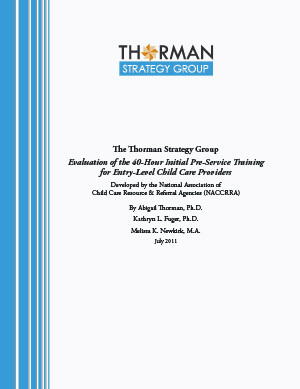 Thorman Strategy Group Eval