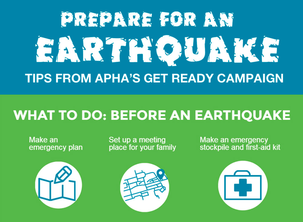 Preview of earthquake infographic