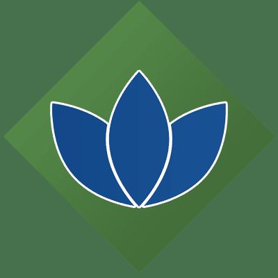 lotus icon representing wellness