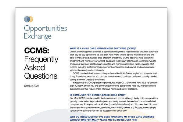 CCMS FAQs