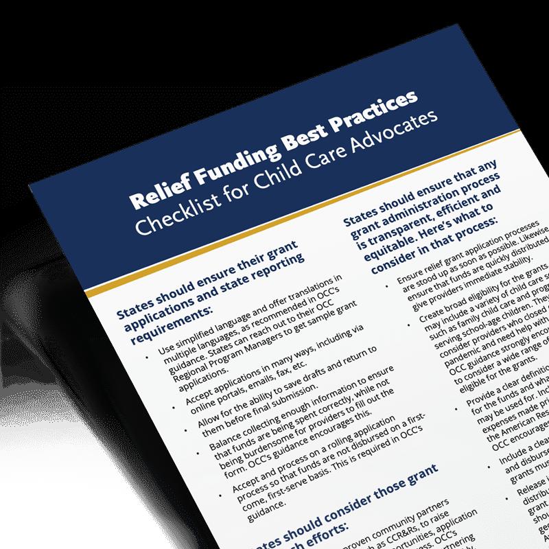 ARP Act Best Practice Checklist